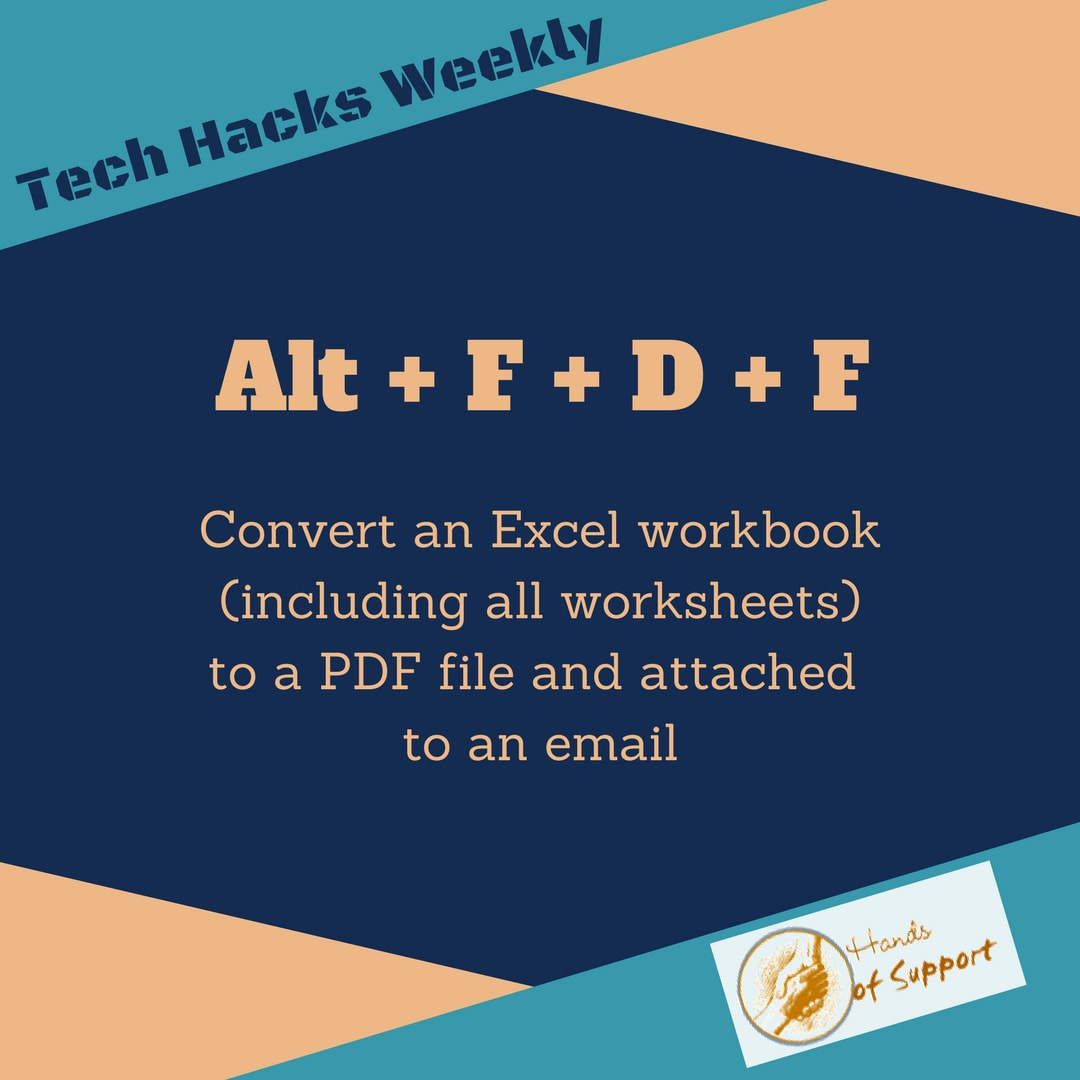 Convert an Excel workbook into PDF